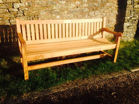 oak garden benches uk hardwood garden bench oak the wooden workshop oakford devon