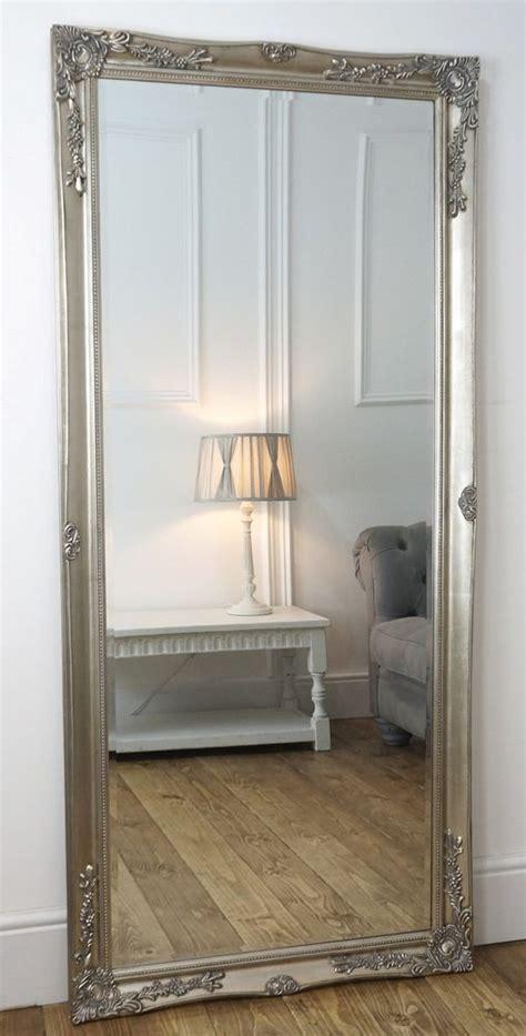 isabella silver shabby chic full length antique floor