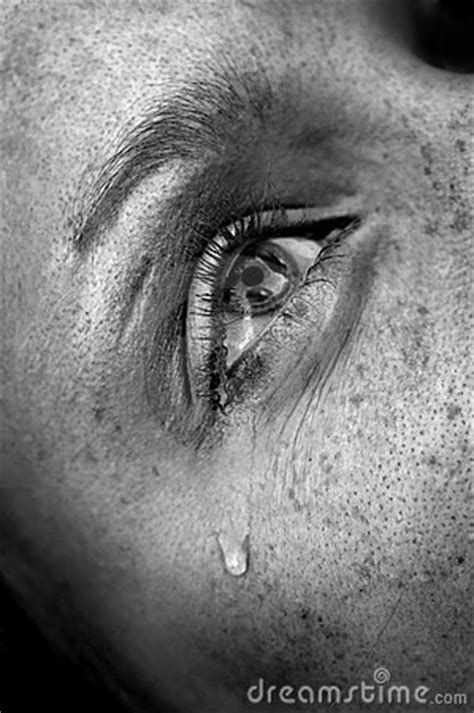 Crying Eye Royalty Free Stock Photography - Image: 3387387