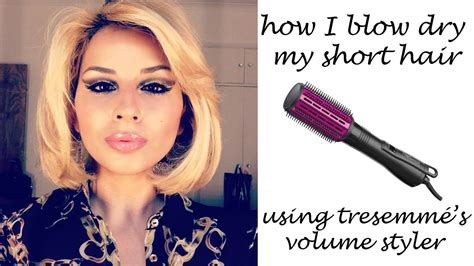 Air Stylers For Hair by How I Blowdry My Hair Using The Tresemme Volume
