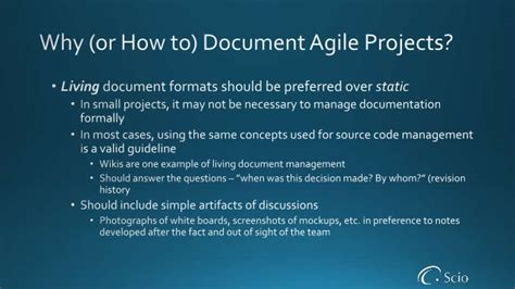 Agile Project Initiation Agile Project Initiation Document Template