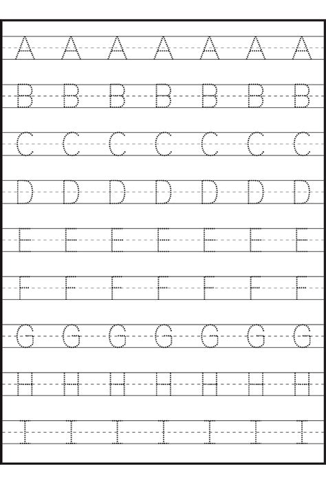 capital small letter tracing worksheet printable capital u0026 small letter tracing worksheet croonpogu