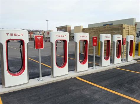 tesla charging stations canada tesla charging stations parking lot picture of