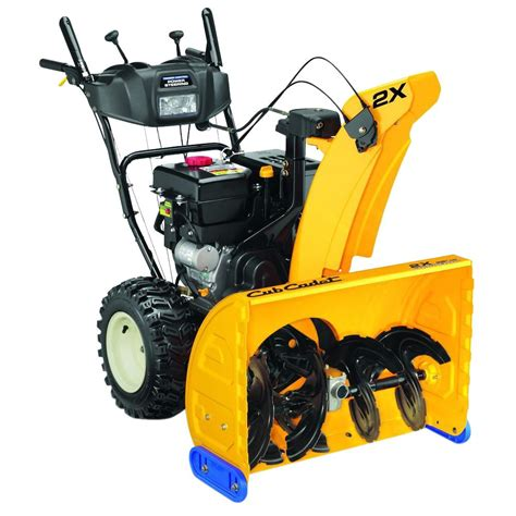 cub cadet 2x 28 in 277cc 2 stage electric start gas snow