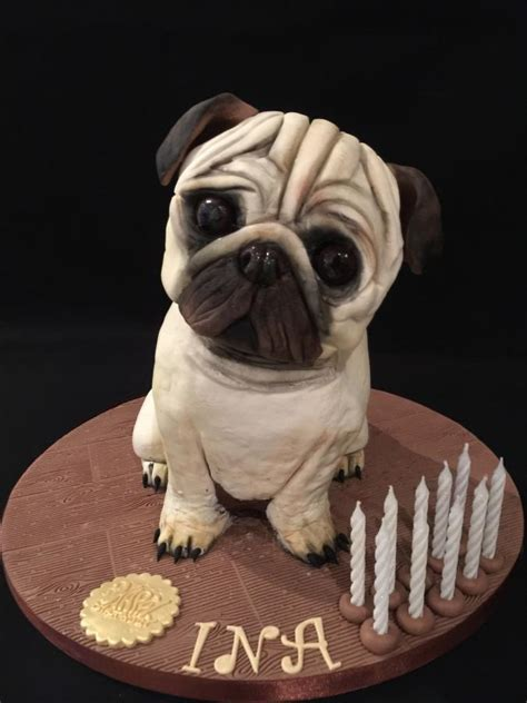 pug cake ideas pug cake cake by galatia sculpted gravity defying cakes birthdays