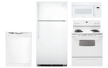 white kitchen appliance packages frigidaire white kitchen appliance package abt com