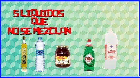 imagenes de latex liquido 5 liquidos que no se mezclan youtube