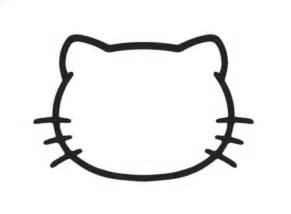 hello kitty face cake template google search template