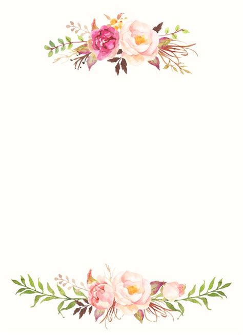 gold and pink flower cards template plakat kasia kartki ślubne wallpaper