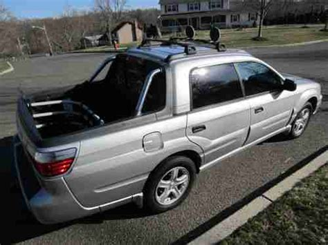 auto air conditioning service 2004 subaru baja electronic valve timing buy used 2004 subaru baja automatic leather roof spotlights bed extender 2 5l runs 100 in