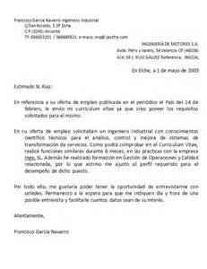 Modelo De Carta De Presentacion Para Un Curriculum B 250 Squeda De Empleo Cartas De Presentaci 243 N Y Autocandidatura Mi De Sociales