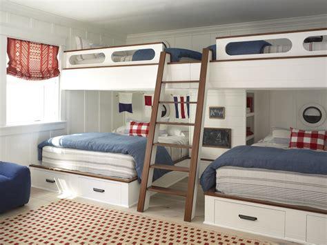 Coastal Bunk Beds Custom Built In Bunkbeds Flagg Coastal Homes