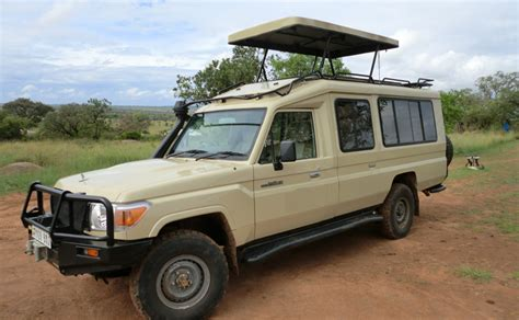 safari land cruiser rent toyota land cruiser top in tanzania gofan