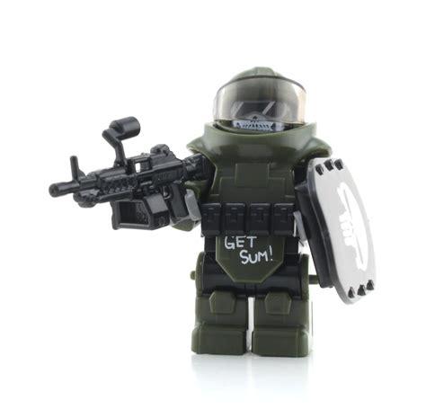Lego Spear Tombak Black juggernaut army assault minifigure lego