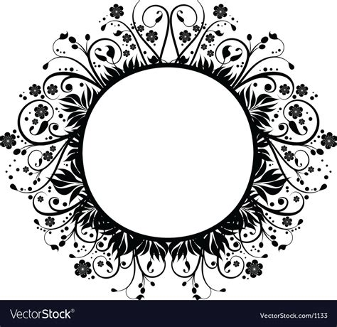 decorative drawing borders decorative border royalty free vector image vectorstock