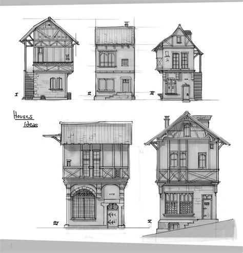 13 best images about building reference on house plans architecture and artworks