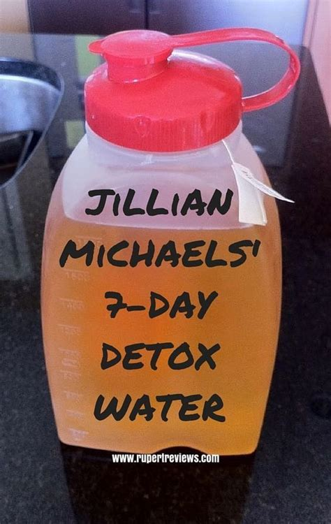 Jillian Michael Detox Water Sheet by Jillian 7 Day Detox Water Weight Loss