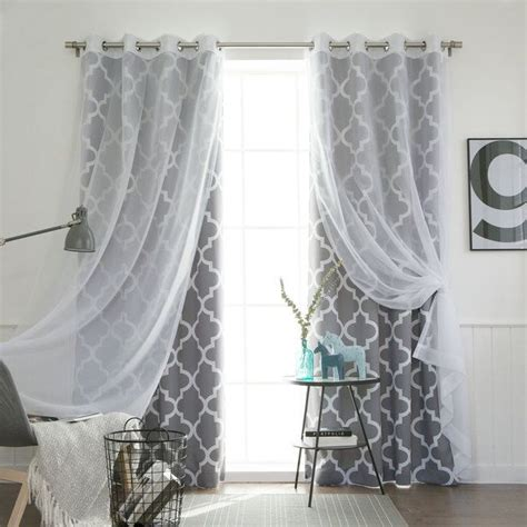 bedroom stylish best 25 window curtains ideas on pinterest