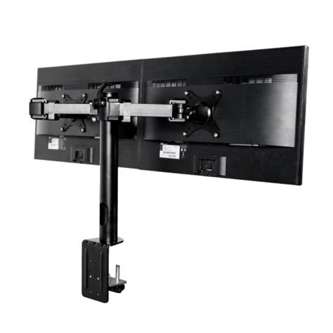 articulating monitor desk mount m13 dual arm monitor desk mount for 10 27 fleximounts