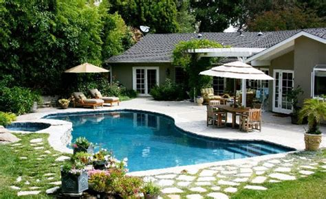 backyard with pool tropical backyards with a pool home designer