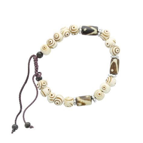 cord and bead bracelet wholesale cord and bead bracelet brown