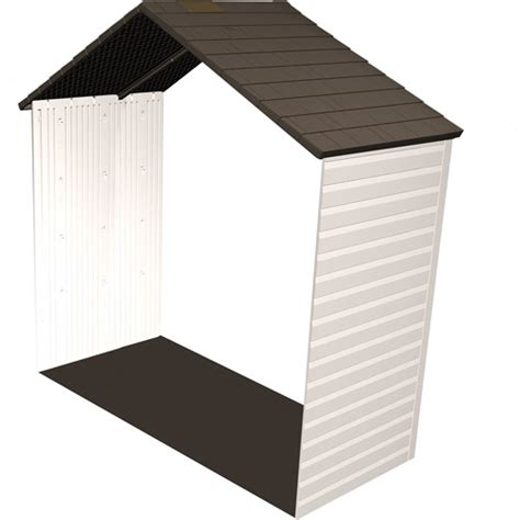 Lifetime Shed Extension by Lifetime 2 5 Shed Extension Walmart