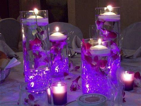 centerpieces with submersible led lights