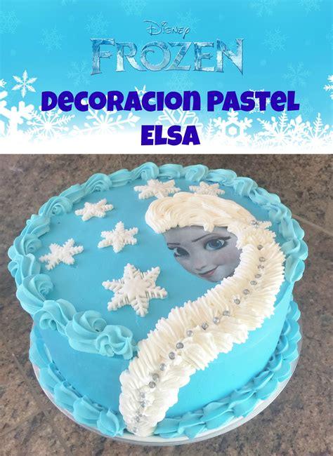 como decorar un pastel de un kilo pastel frozen de elsa decoraci 243 n f 225 cil madelin s cakes