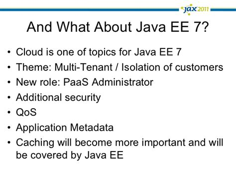 java ee themes spring in the cloud