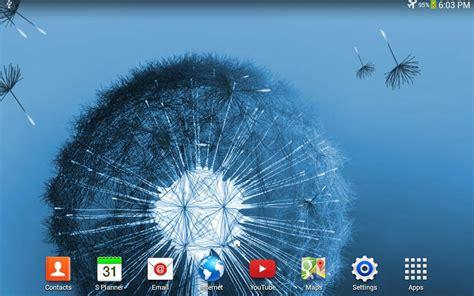 wallpaper bergerak for samsung dandelion live wallpaper android apps on google play