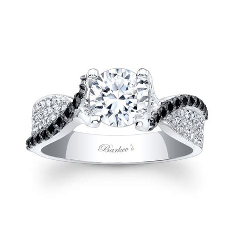 barkev s black engagement ring 7881lbk