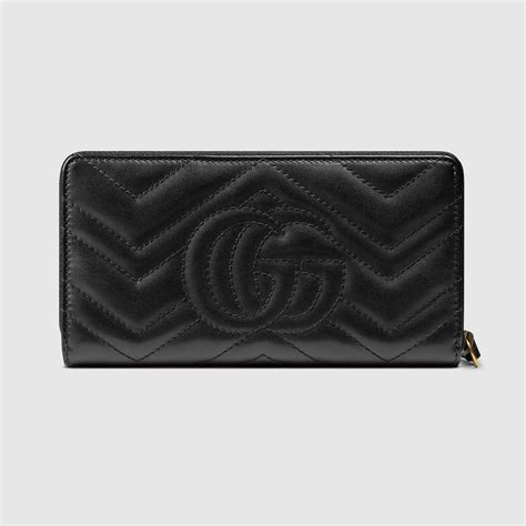 gg marmont zip around wallet gucci s zip around 443123drw1t1000