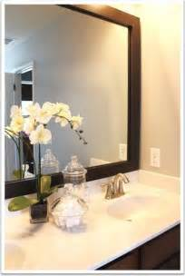 large bathroom mirror frames mirrormate mirror frame kit bathroom mirrors by mirrormate