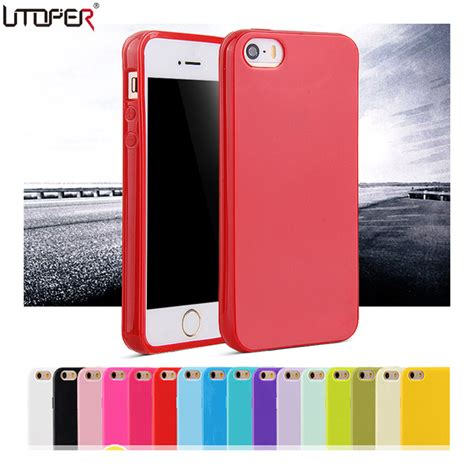 Iphone 5 5s Se Leather Silicone Original Not Spigen Mirror Ipaky utoper coque for apple iphone 5 iphone 5s for iphone se fashion soft tpu