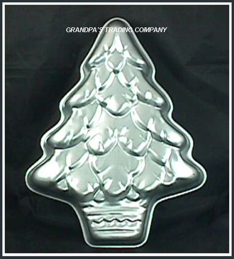 wilton treeliteful christmas tree cake pan mold 502 110 ebay