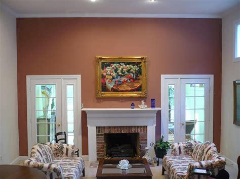 Paint For Fireplace Interior by Scevoli Painting Inc Interior Residential Painting Company Painting An Accent Wall