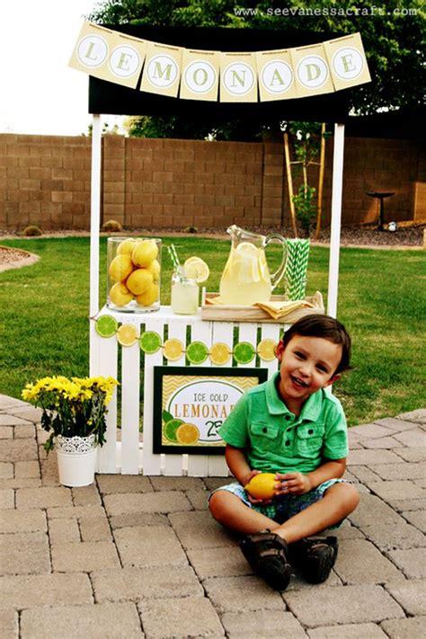 diy lemonade stand 15 beautiful lemonade stand designs a great symbol of summer