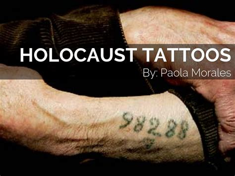 holocaust tattoos by mora5061