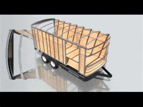 enclosed cargo trailer frame building youtube