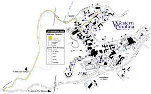 Western Oregon University Map by Western Carolina University Campus Map Pictures To Pin On