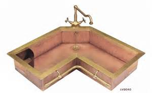 copper corner kitchen sink kitchen