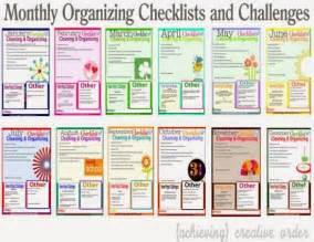 organize my house checklist routines magalie du blog confession d une accro 224 l