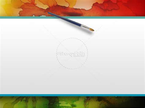 Colorful PowerPoint Sermon Template | Fall Thanksgiving ... Ephesians 1:11