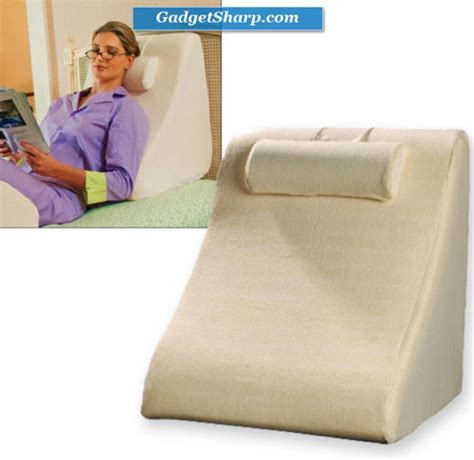 pillow reading in bed 7 multifunctional bed pillows for reading in bed gadget