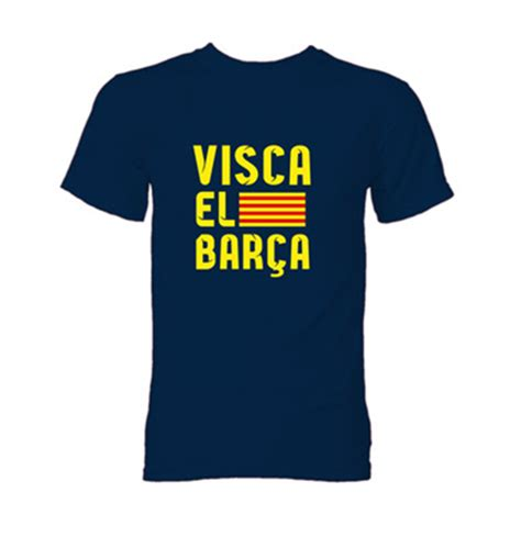 Visca Barca Fans T Shirt Yn Style visca el barca t shirt navy for only c 21 19 at