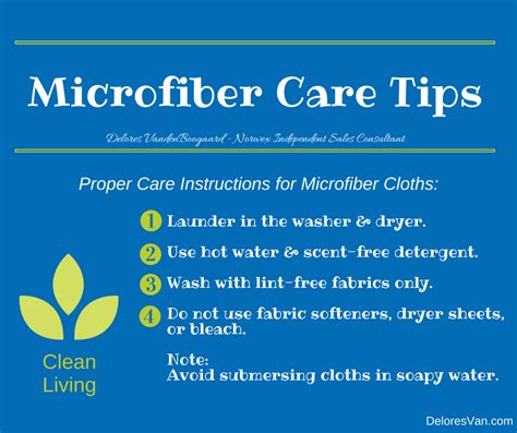 Care Tips 1 by How To Care For Your Norwex Cloths Clean Living