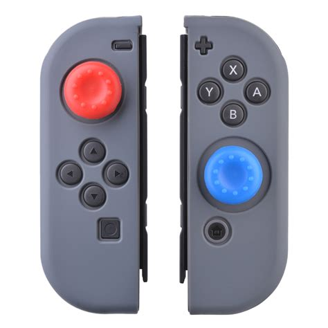 Silikon Silicone Con Nintendo Switch sunix silikon schutz h 252 lle etui cover grau f 252 r nintendo switch controller su509 ebay