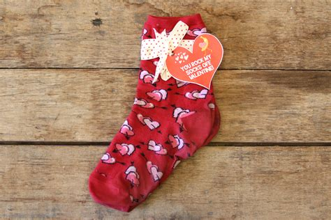 valentines day socks s day treats that aren t chocolate live playfully