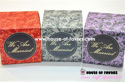 pemborong cenderahati perkahwinan we are married favor box sleeve clearance wedding
