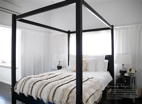 modern four poster bed four poster bed modern black new house pinterest